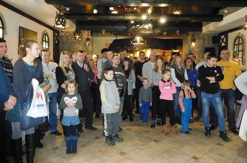 Мероприятие проходило в одном из залов саратовского ресторана Первая Гильдия
